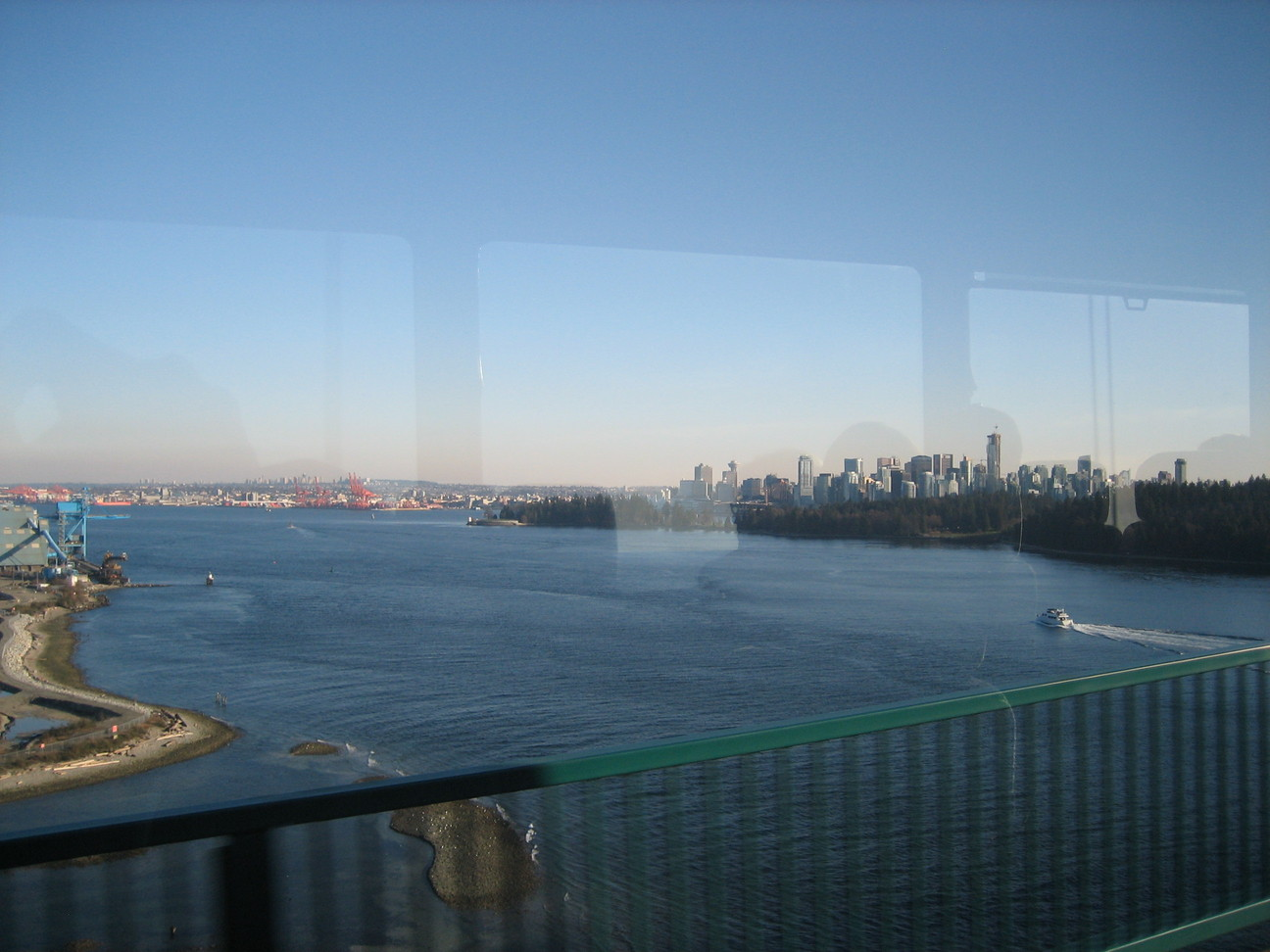 Downtown Vancouver from the Lions Gate Bridge