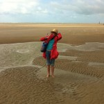 Camber Sands is windy!
