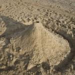 Rosie's Sand Volcano