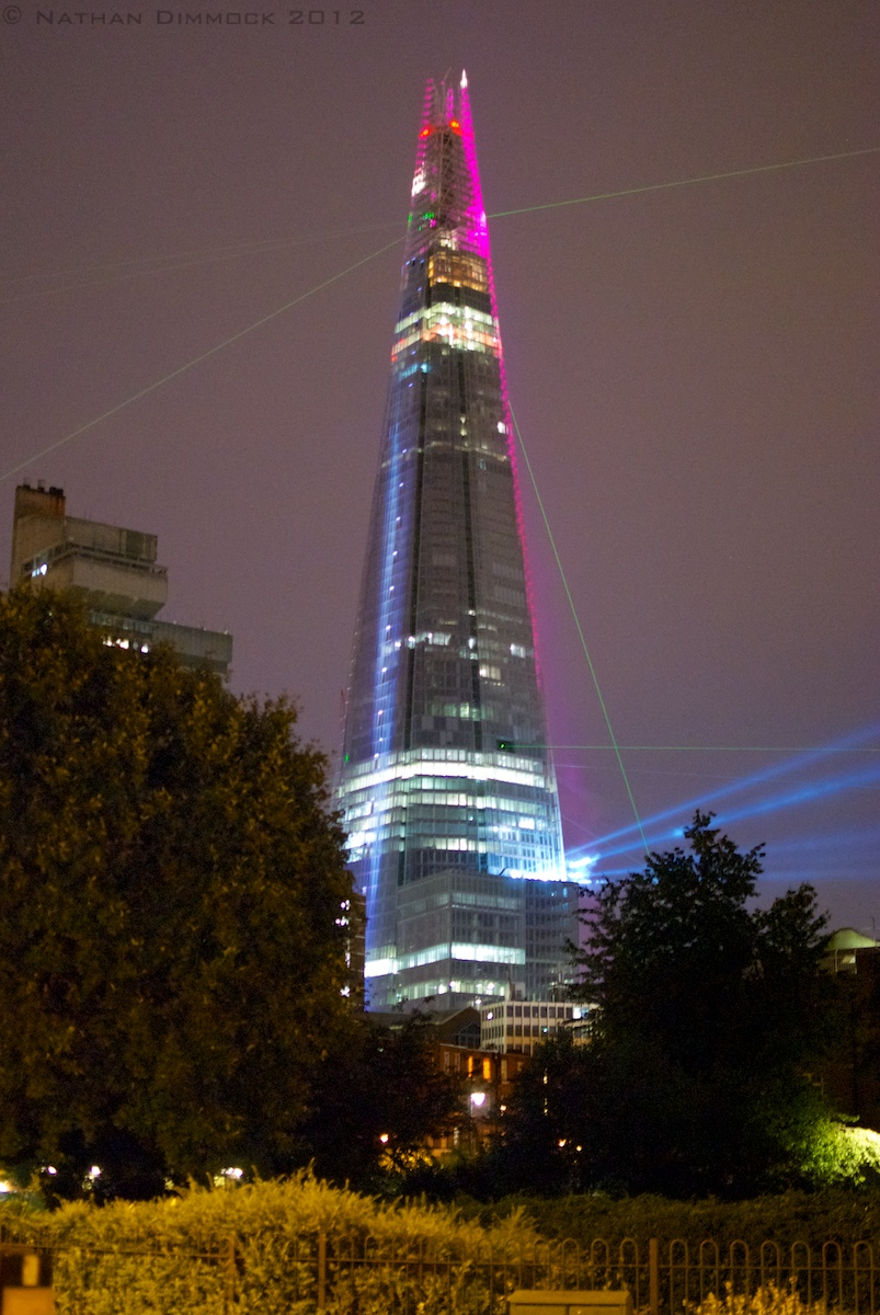 The Shard Grand Opening