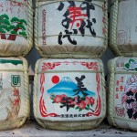 Saké Barrels at the Meji Shrine
