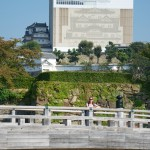 Himeji castle is undergoing a 5 year restoration programme.