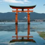 Torii Gate on Miya Jima