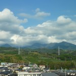 View from the Shinkansen